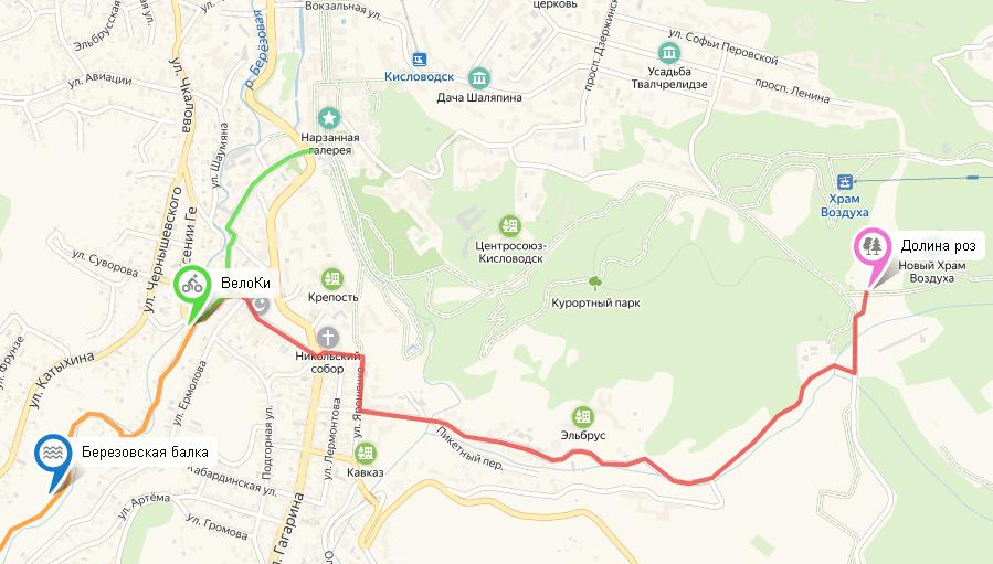 велопрокат Кисловодск