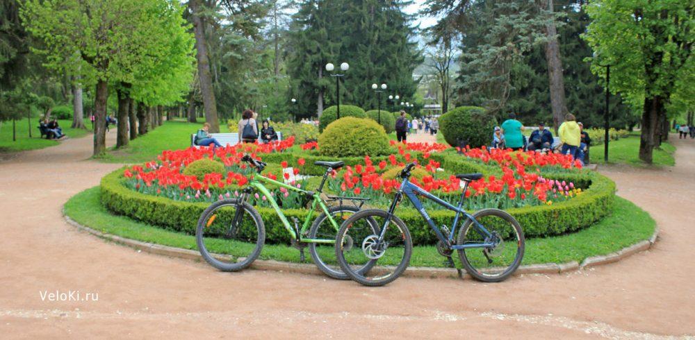 велопрокат в кисловодском парке