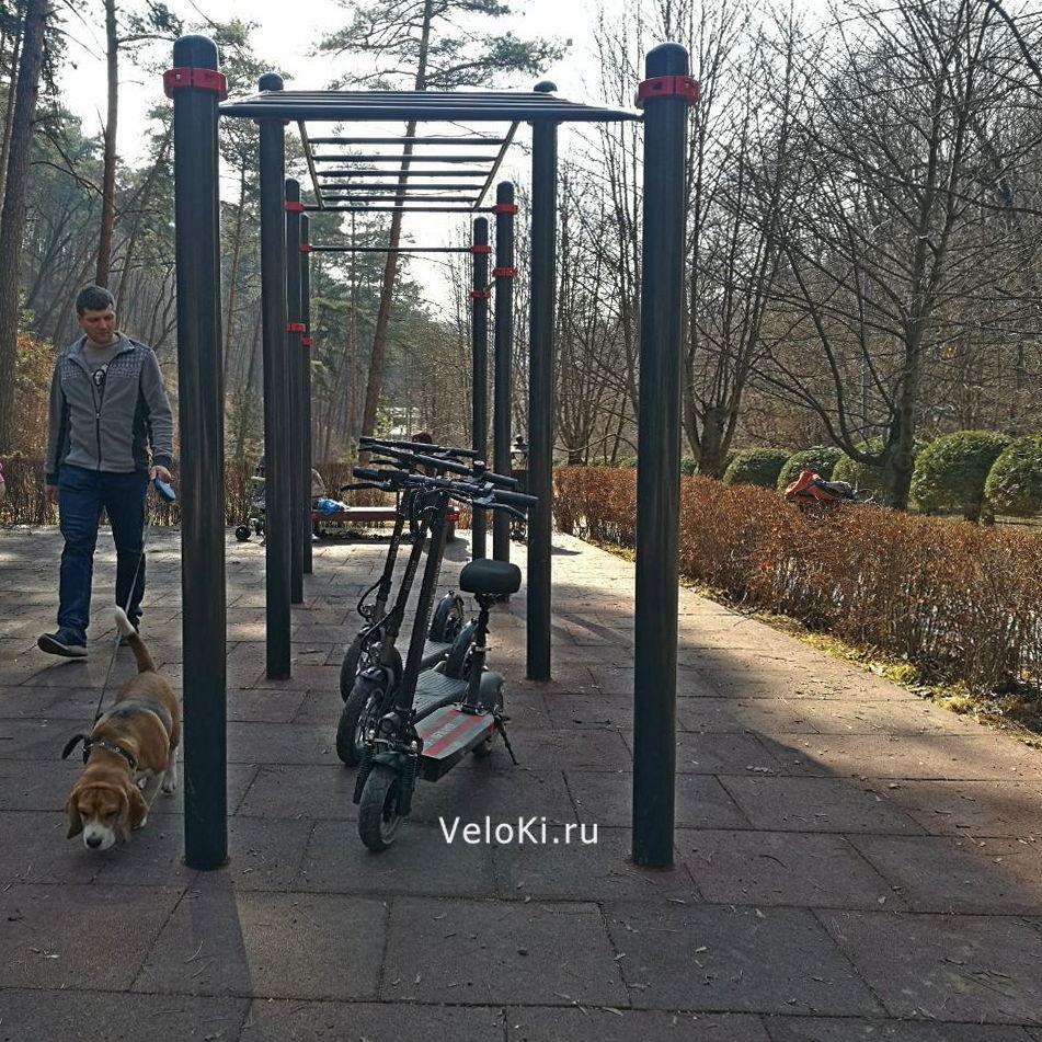 аренда электросамоката в парке