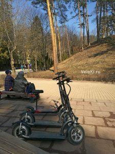 прокат электросамоката в Кисловодском парке